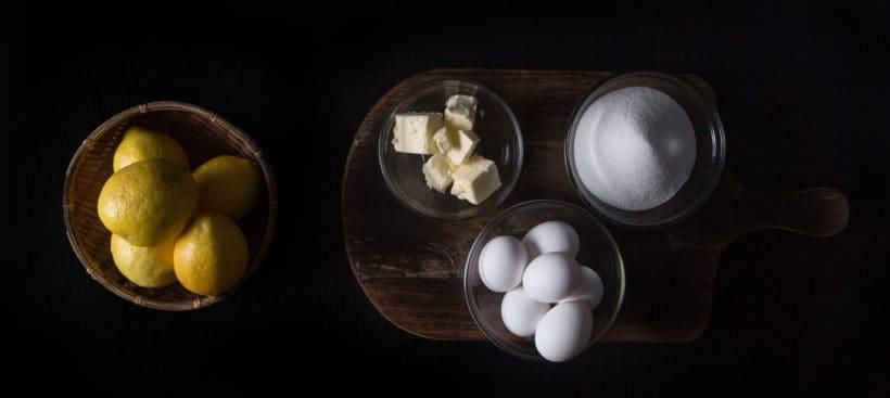 Instant Pot Lemon Curd Recipe (Pressure Cooker Lemon Curd) Ingredients