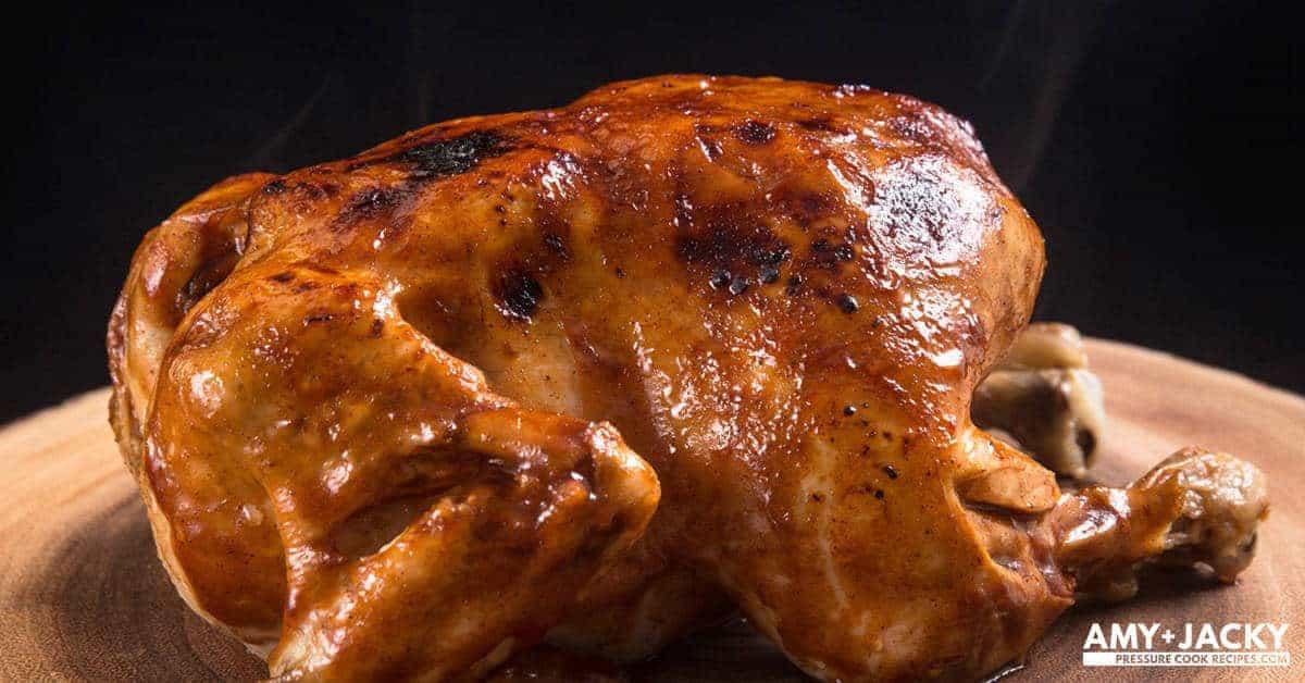 Instant Pot Bbq Whole Chicken Recipe Pressure Cooker Whole Chicken
