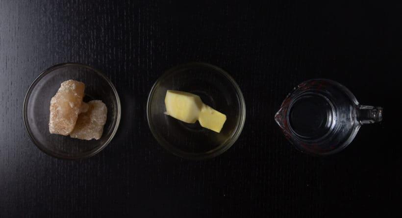 Instant Pot Tofu Pudding Recipe (Pressure Cooker Dou Hua 免石膏粉豆腐花): ginger syrup recipe ingredients