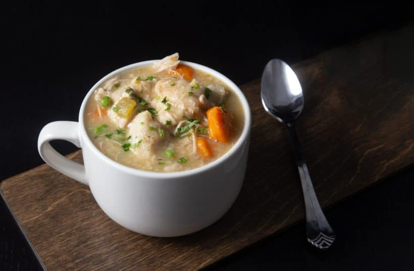 Instant Pot Chicken and Dumplings Recipe (Pressure Cooker Chicken and Dumplings): how to make satisfyingChicken and Dumplings - classic comfort food with tender chicken and fluffy homemade dumplings in aromatic chicken broth. An all-time family favorite! #instantpot #instantpotrecipes #instapot #pressurecooker #chickenrecipes #recipes
