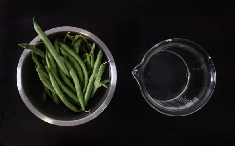 Instant Pot Green Beans Recipe (Pressure Cooker Green Beans) Ingredients
