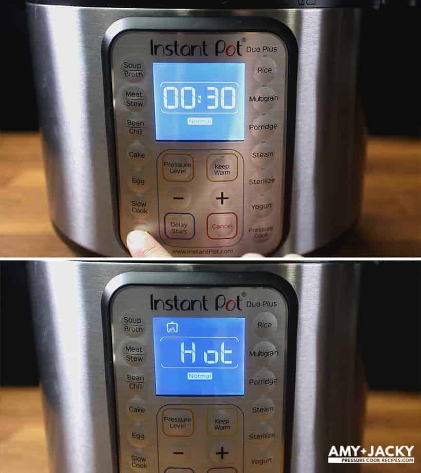 How to use Instant Pot Saute Function