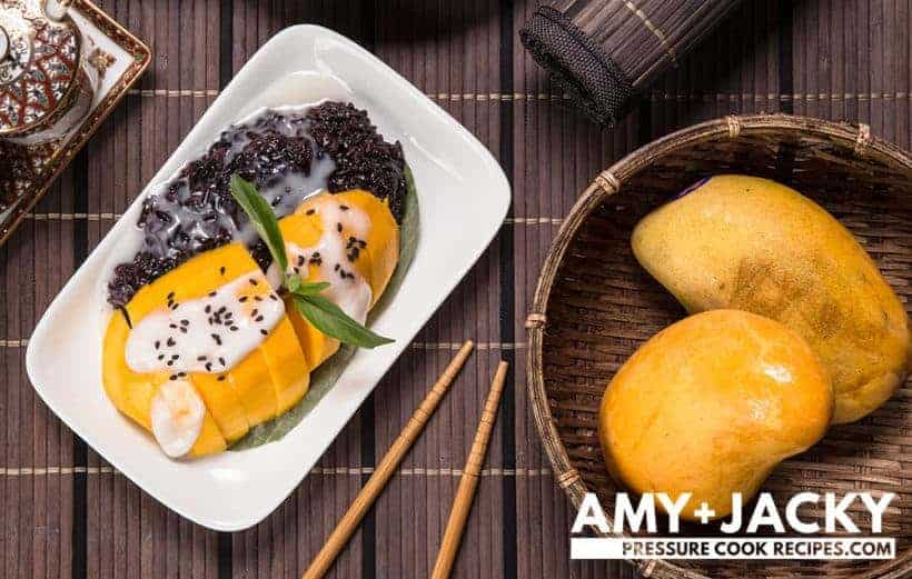 How to Make Thai Mango Sticky Rice #instantpot #easyrecipe #dessert #dessertrecipes #recipe