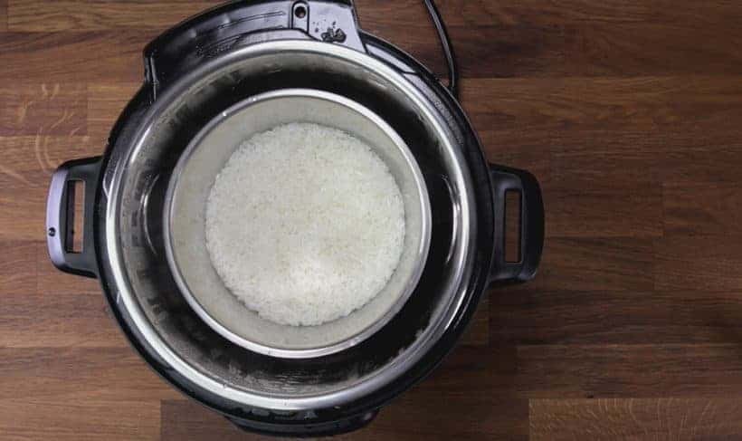 How to make Thai Mango Sticky Rice in Instant Pot Pressure Cooker