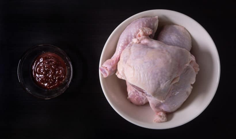 Instant Pot BBQ Chicken Recipe (Pressure Cooker BBQ Chicken) Ingredients