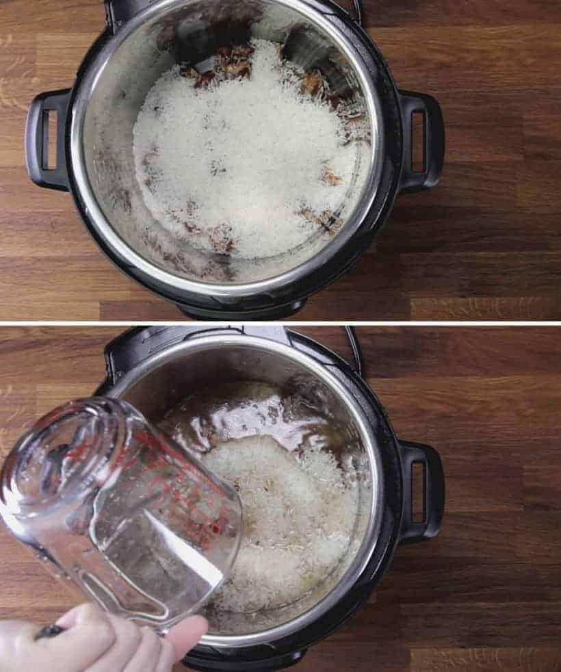 Instant Pot Spare Ribs and Rice (Pressure Cooker Spare Ribs Recipe): add Jasmine rice in Instant Pot #instantpot #pressurecooker #ribs #chinese #recipes #onepotmeal