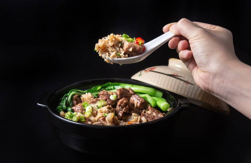 Instant Pot Spare Ribs and Rice(Pressure Cooker) 豉汁排骨飯.Super Easy and Quick One Pot Meal. Deliciously tender black bean sauce spare ribs with comforting flavorful rice. #instantpot #pressurecooker #ribs #chinese #recipes #onepotmeal