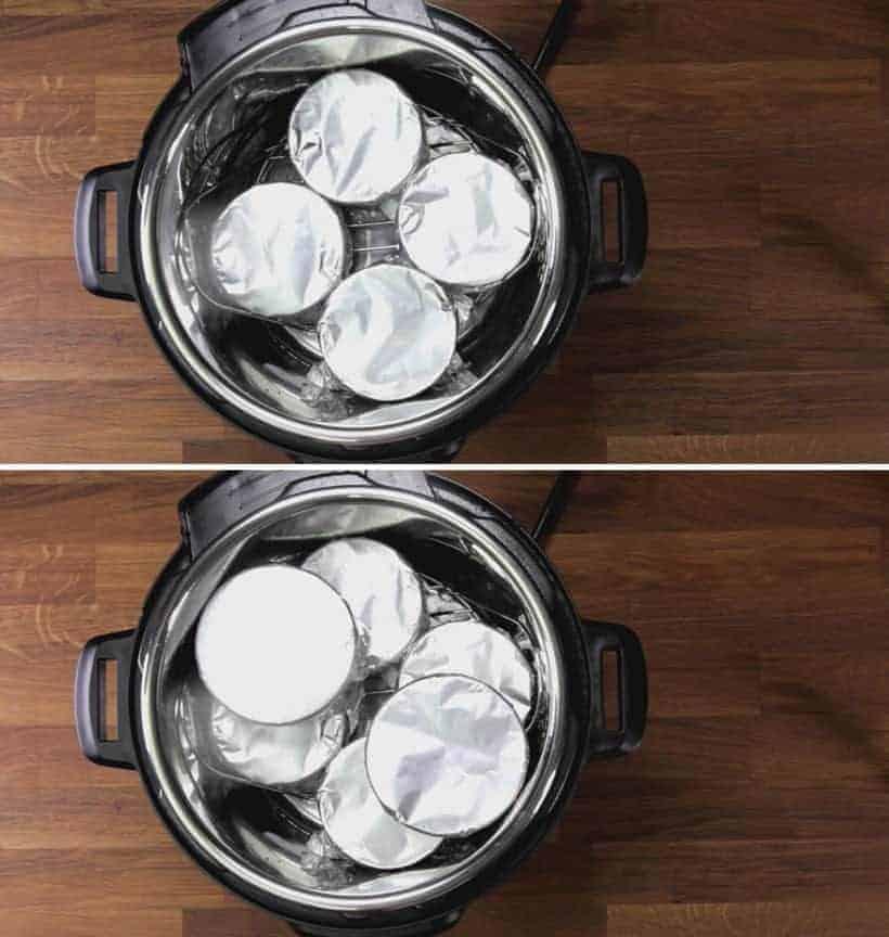 Instant Pot Creme Brulee: pressure cook creme brulee