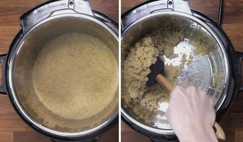 Instant Pot Quinoa: fluff and serve pressure cooker quinoa