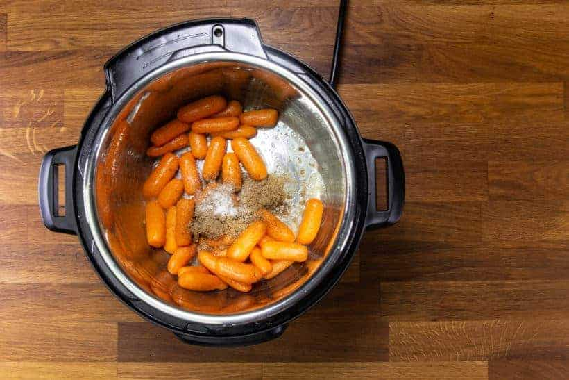 Instant Pot Carrots: make sweet candied carrots in Instant Pot Pressure Cooker