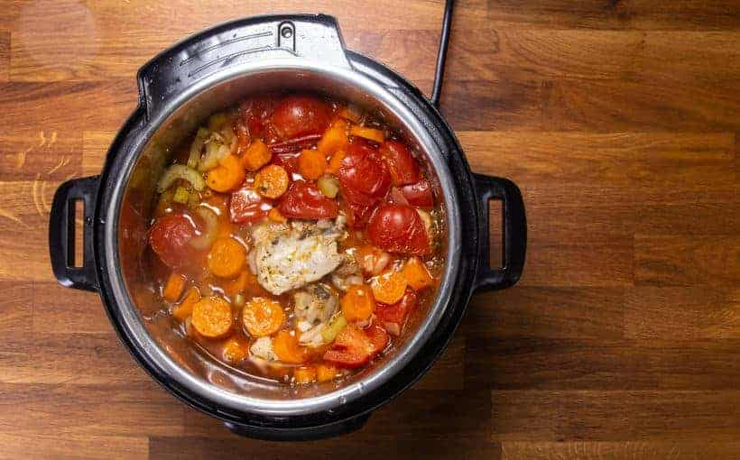 Instant Pot Chicken Soup | Pressure Cooker Chicken Soup Recipe