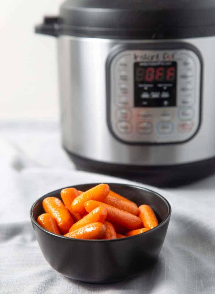Instant Pot Carrots | Pressure Cooker Carrots | Instant Pot Vegetables | Instant Pot Side Dishes | Instant Pot Vegetarian | Instant Pot Recipes | Pressure Cooker Recipes