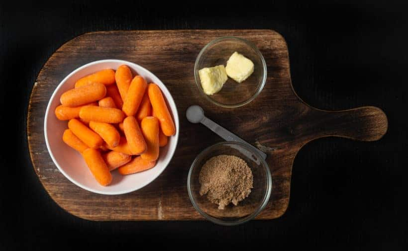 Instant Pot Carrots Recipe Ingredients
