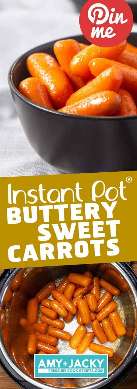 Instant Pot Carrots | Pressure Cooker Carrots | Instant Pot Vegetables | Instant Pot Side Dishes | Instant Pot Vegetarian | Instant Pot Recipes | Pressure Cooker Recipes  #instantpot #pressurecooker #side #snack #vegetables