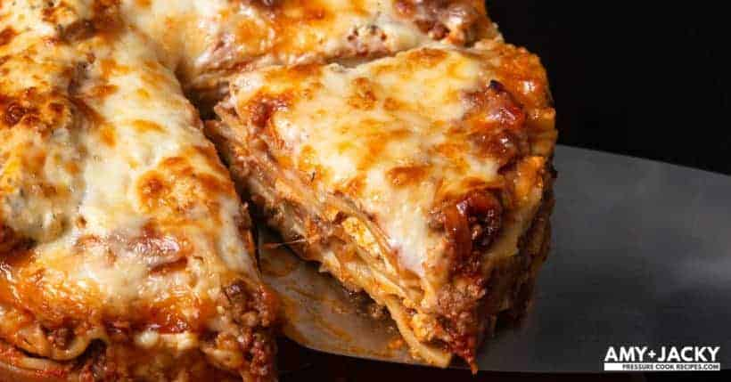 Instant Pot Lasagna | Pressure Cooker Lasagna | Instapot Lasagna | Lasagna Recipes | Instant Pot Ground Beef | Instant Pot Pasta | Easy Instant Pot Recipes | Instant Pot Beef Recipes #instantpot #pressurecooker #groundbeef #beef #easy #dinner