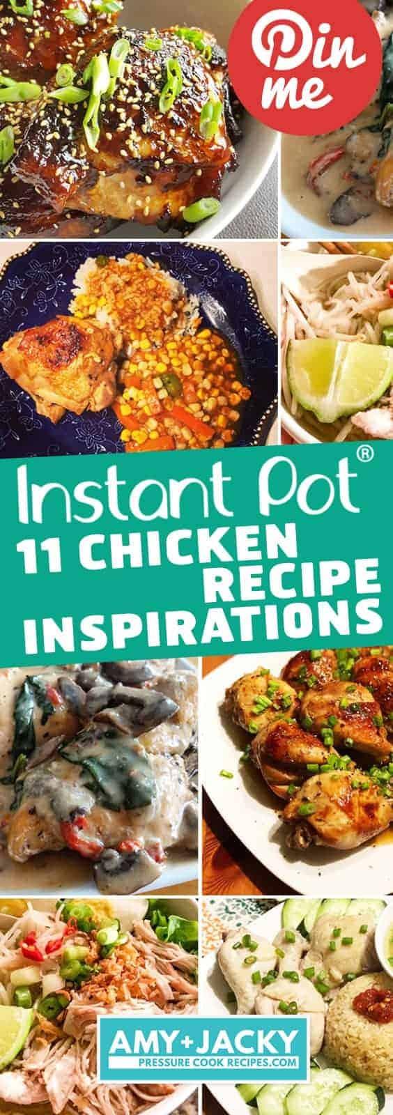 Instant Pot Chicken Dinner Ideas | Instant Pot Chicken Recipes | Instant Pot Chicken | Pressure Cooker Chicken Recipes | Instant Pot Dinner Ideas | Instant Pot Recipes | Pressure Cooker Recipes #instantpot #pressurecooker #chicken #recips #easy
