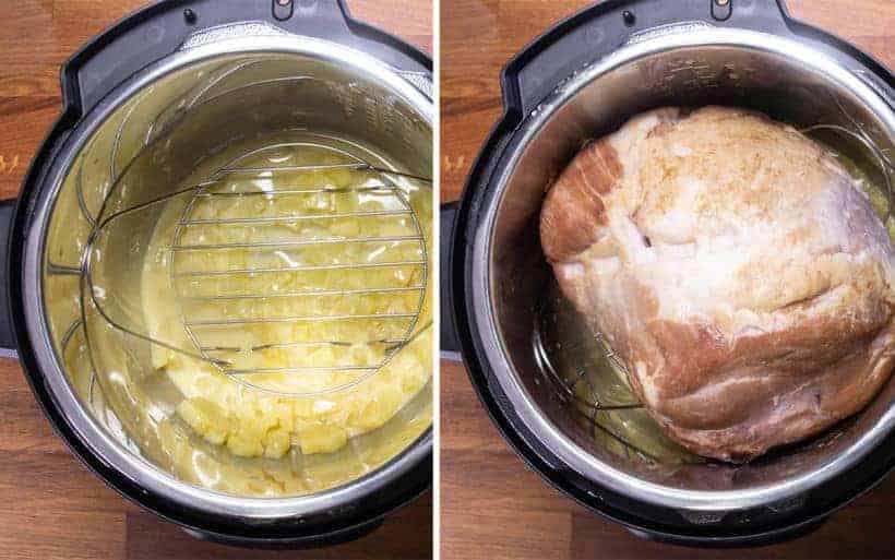 Instant Pot Ham | Pressure Cooker Ham: pressure cook ham in Instant Pot Pressure Cooker