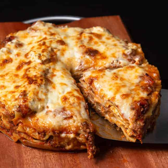 Instant Pot Thanksgiving Recipes: Instant Pot Lasagna (Pressure Cooker Lasagna)