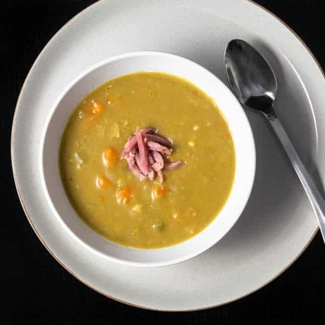 Instant Pot Thanksgiving Recipes: Instant Pot Split Pea Soup (Pressure Cooker Split Pea Soup)