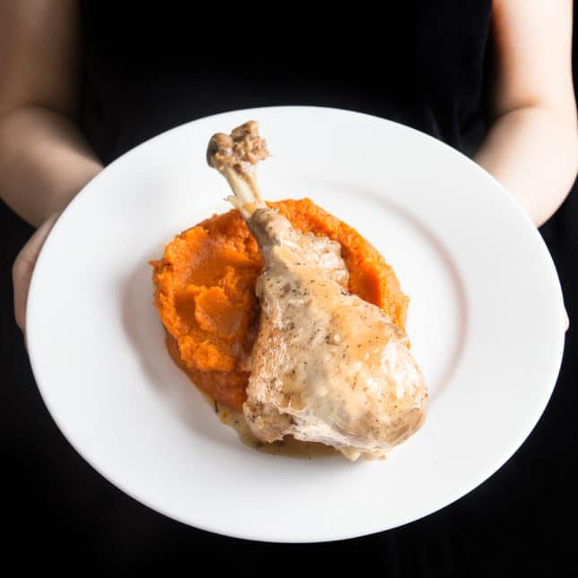Instant Pot Thanksgiving Recipes: Instant Pot Turkey Legs (Pressure Cooker Turkey Legs)