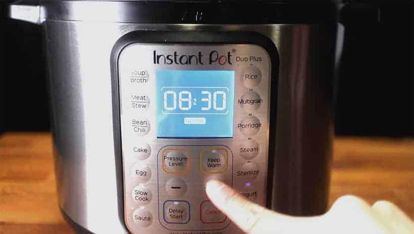 Instant Pot Yogurt (Instant Pot Cold Start Yogurt | Instant Pot No Boil Yogurt): set Instant Pot yogurt incubation settings