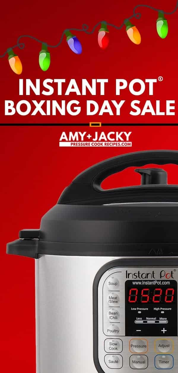 Instant Pot Boxing Day Deals 2018 | Instant Pot Sale | Instant Pot Deals | Instant Pot Boxing Day 2018