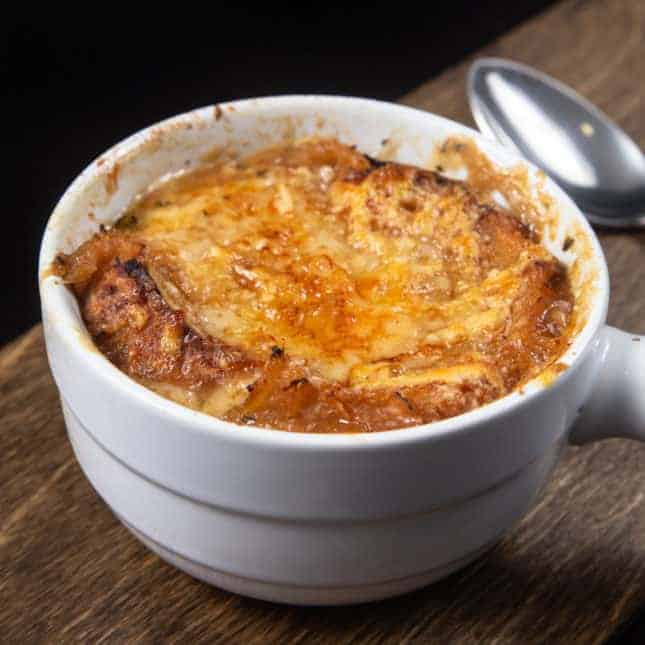 Instant Pot Christmas Recipes: Instant Pot French Onion Soup (Pressure Cooker French Onion Soup)
