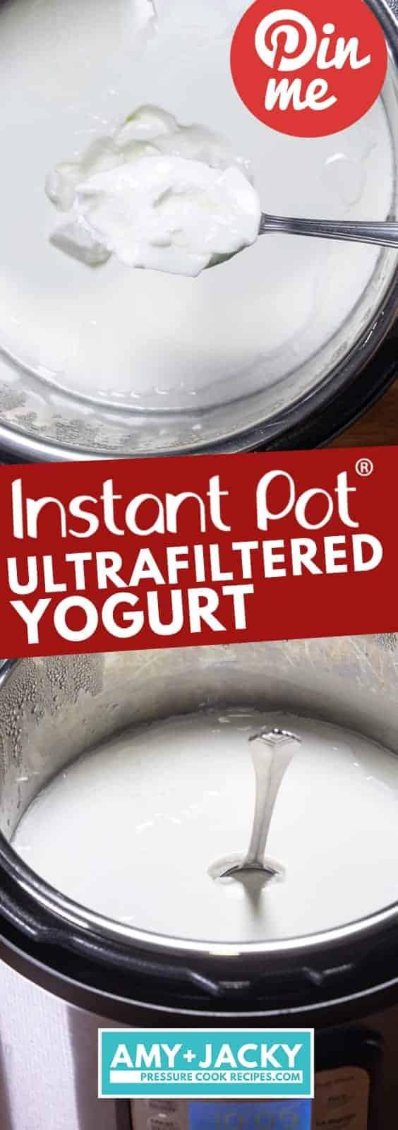 Instant Pot Yogurt | Instant Pot Cold Start Yogurt | Instant Pot No Boil Yogurt | Instant Pot Ultrafiltered Yogurt | Pressure Cooker Yogurt | How to make Yogurt #instantpot #pressurecooker #fairlife #ultrafiltered #lactosefree #healthy #breakfast