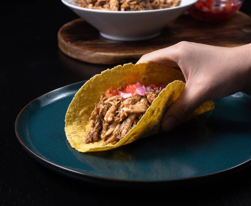 Instant Pot Chicken Tacos Tested By Amy Jacky
