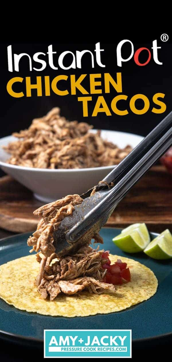 Instant Pot Chicken Tacos | Pressure Cooker Chicken Tacos | Easy Chicken Tacos Recipe | Instant Pot Chicken | Pressure Cooker Chicken | Instant Pot Tacos | Pressure Cooker Tacos | Instant Pot Mexican #instantpot #pressurecooker #mexican #chicken #recipes
