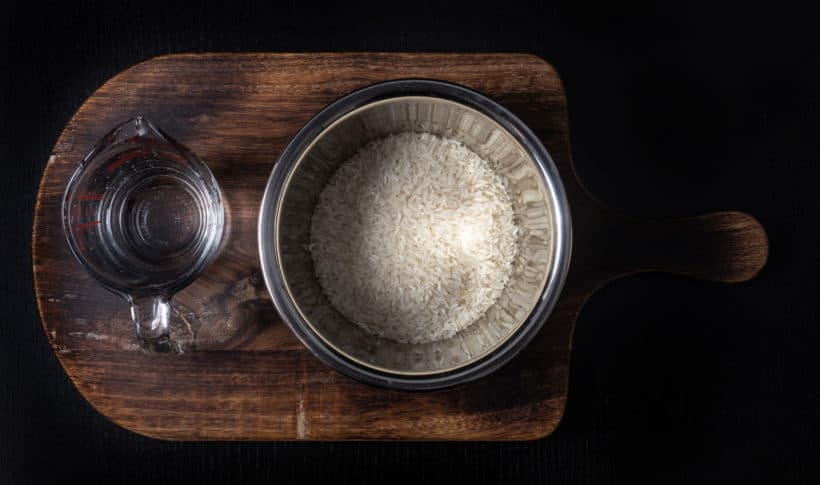 Instant Pot Pot in Pot Rice Ingredients