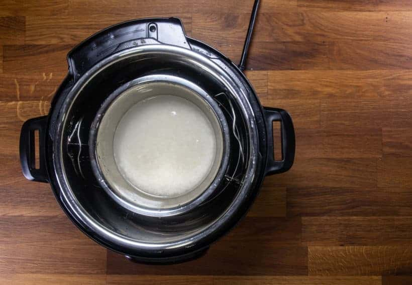 Instant Pot Pot in Pot Rice: add pot in pot rice in Instant Pot Pressure Cooker