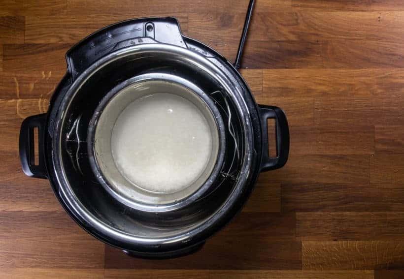 Instant Pot Pot in Pot Rice: add pot in pot rice in Instant Pot Pressure Cooker