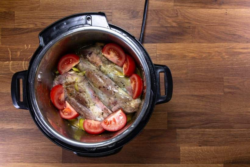 Pressure Cooker Lamb Shanks: pressure cook lamb shanks in pressure cooker