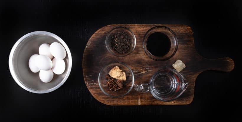 Instant Pot Tea Eggs | Chinese Tea Eggs | 茶葉蛋 Recipe Ingredients #instantpot #recipe