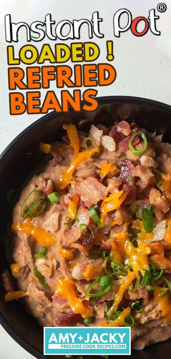Instant Pot Refried Beans | Pressure Cooker Refried Beans | How to make Refried Beans | Mexican Refried Beans Recipe | Refried Bean Dip | Refried Pinto Beans | Homemade Refried Beans | Instant Pot Beans #instantpot #pressurecooker #recipe #sides #mexican