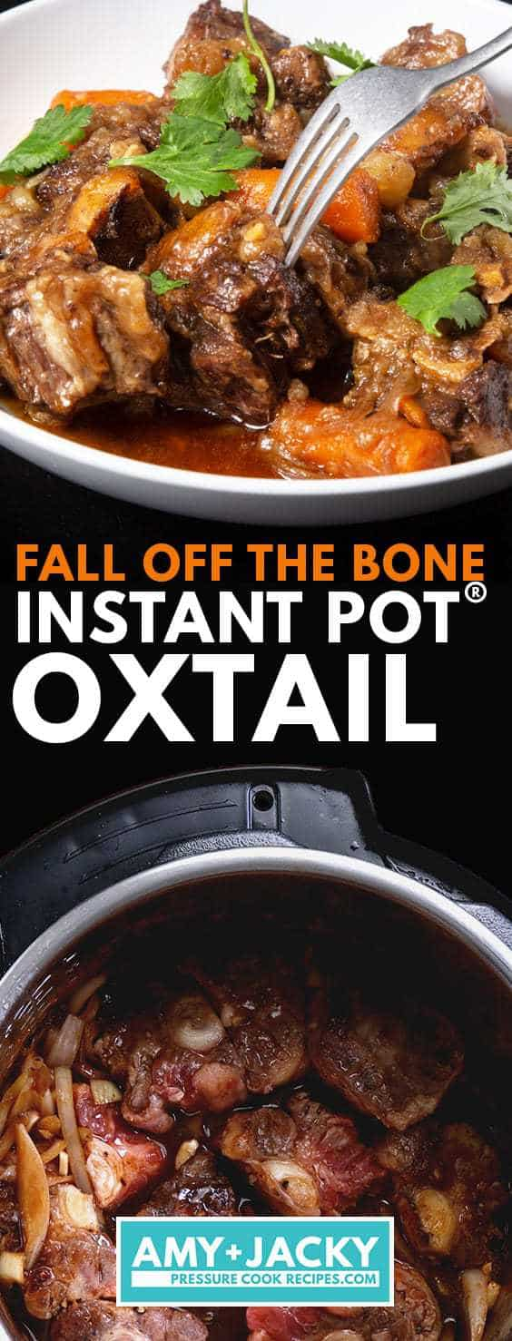 Instant Pot Oxtail | Pressure Cooker Oxtails | Instapot Oxtail | Oxtail Stew | Instant Pot Beef Recipes | Pressure Cooker Beef Recipes #instantpot #recipes #easy