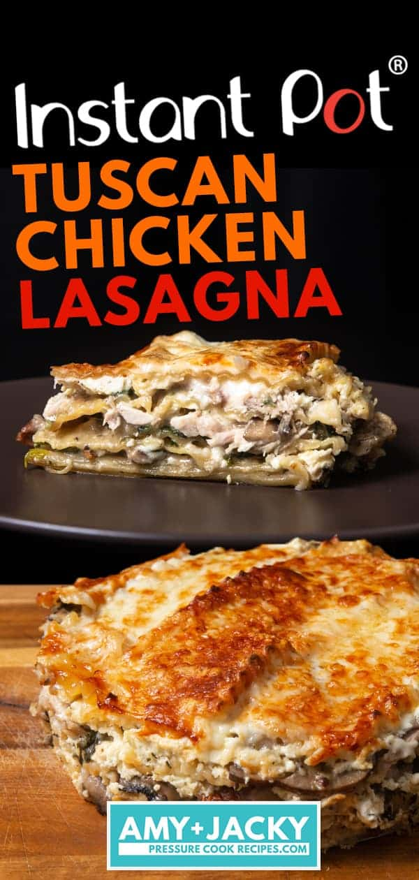 Instant Pot Chicken Lasagna | Pressure Cooker Chicken Lasagna | Instapot Chicken Lasagna | Lasagna Recipes | Instant Pot Tuscan Chicken | Instant Pot Pasta | Easy Instant Pot Recipes | Instant Pot Chicken Recipes  #instantpot #pressurecooker #chicken #easy #recipes