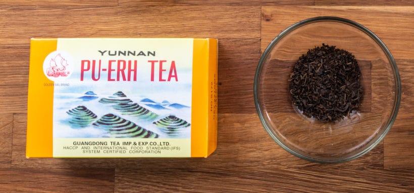 Pu'er Tea Leaves or Pu-erh Tea (普洱茶) for making Chinese Tea Eggs in Instant Pot Pressure Cooker #instantpot #recipe